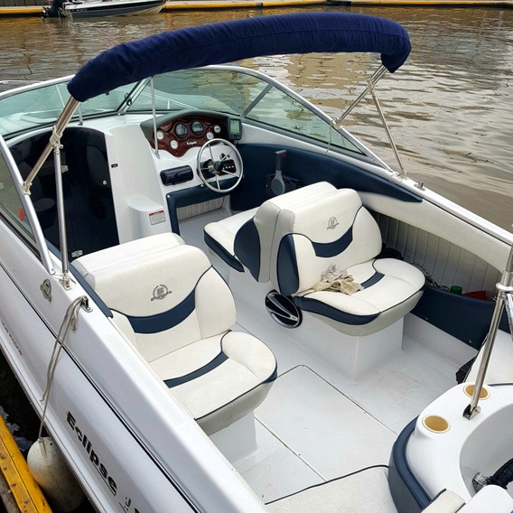 Lancha Arco Iris Eclipse 18 Con Yamaha 115hp Impecable Part.