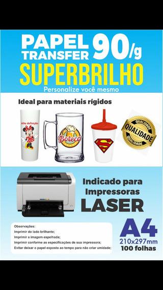 Papel Transfer Super Brilho