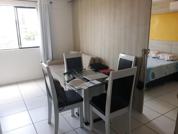 Apartamento Em Capim Macio, Natal/rn De 37m² 1 Quartos À Venda Por R$ 135.000,00 - Ap278504