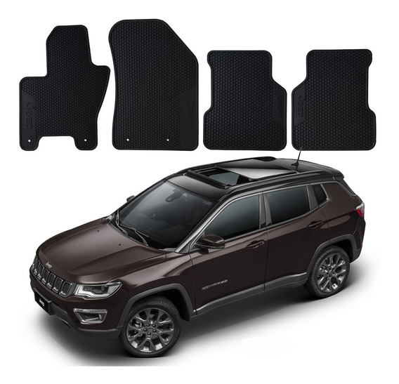 Tapete Borracha Original Mopar Jeep Compass S Turbo 2020