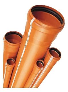 Caño/tubo 110 Rigido Con Aro Goma Awaduct (4m) + Envio