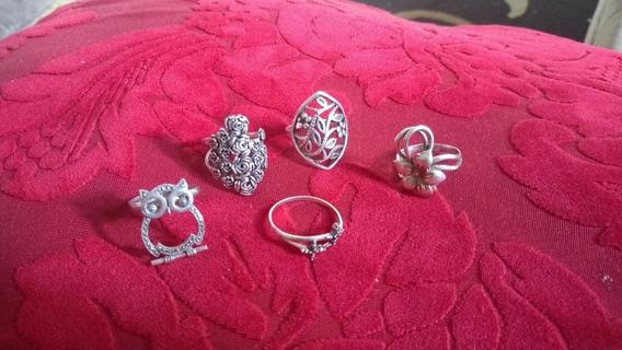 Anéis Em Prata De Bali