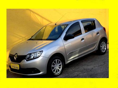 Imagem 1 de 12 de Renault Sandero 1.0 Authentique 16v Flex 4p Manual