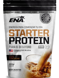 Starter Protein Ena Cafe Con Leche 400 Grs