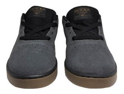 Tênis Hocks Nova Carbon/black
