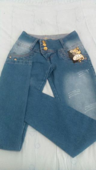 Calças Jeans Feminina Com Laicra Tamanho Do 36 Ao 44