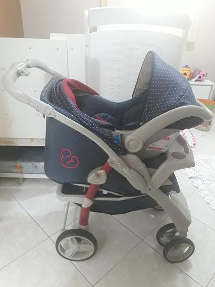 Carrinho E Bebê Conforto Galzerano Optimus