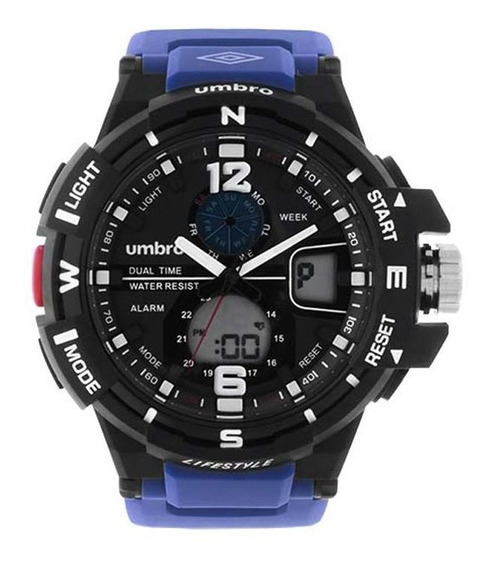 Relógio Umbro Masculino Umb-012-5 C/ Garantia E Nf
