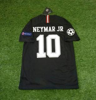 Camisa Psg Jordan X - Mbappe Cavani Neymar - Frete Grátis