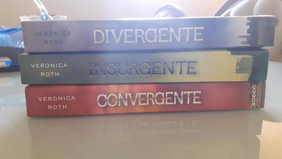 Trilogia Completa Da Saga Divergente.