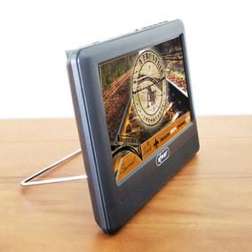 Kit 3 Unid Tv Digital Portátil 7 Pol Hd Full Seg Hdmi Rca P2
