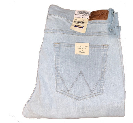 Jean Wrangler Brockton Local Oficial Original 3 Colres