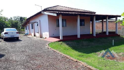 Chácara Com 3 Dormitórios À Venda, 1000 M² Por R$ 280.000,00 - Pr-090, 445, Alvorada Do Su - Alvorada Do Sul/pr - Ch0172