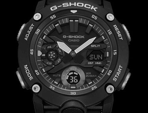 Relógio Casio G-shock Masculino Carbon Core Guard Ga-2000s-