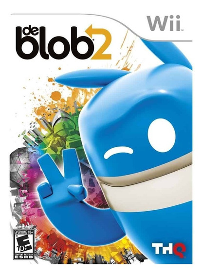 Jogo Lacrado Midia Fisica De Blob 2 Para Nintendo Wii