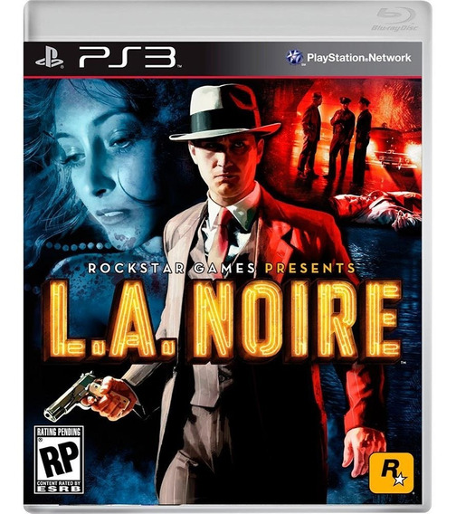 L.a Noire Exclusivo Para Playstation Ps3 Midia Física Orig