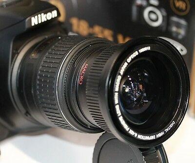 Imagen 1 de 8 de Lente Macro Gran Angular Ultra 52mm Para Nikon D3100 D320...