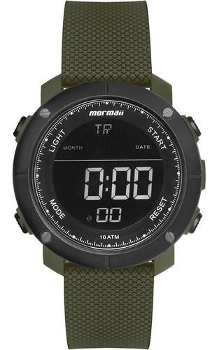 Relógio Digital Mormaii Wave Verde Mo0700ad/8v