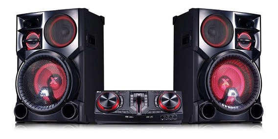 Mini System Xbomm LG Cj98 Com Multi Bluetooth 2700w