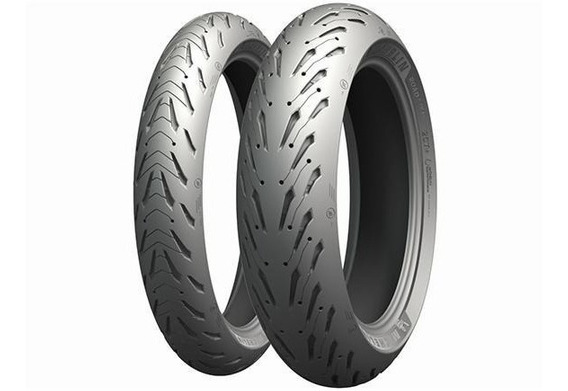 Pneu 120/70-17 & 180/55-17 Michelin Pilot Road 5 Tras Diant