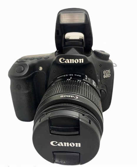 Canon 60d C Lente 1855 Mm Seminova Impecável 19650 Cliques
