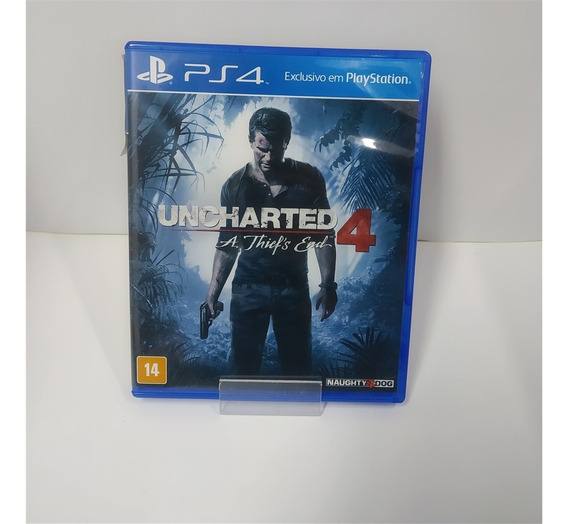 Uncharted 4: A Thief's End (seminovo) - Ps4