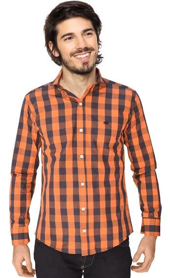 Camisas Entalladas Hombre Slim Fit Elastizadas