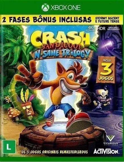 Crash Bandicoot Xbox One Midia Digital + 1 Jogo Grátis