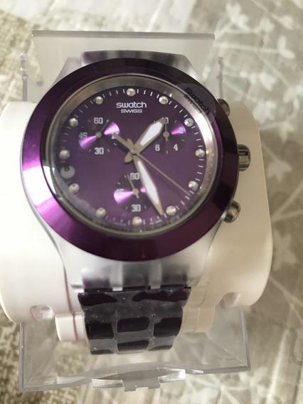 Relógio Swatch Roxo