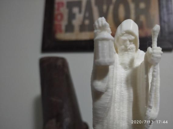 Escultura The Hermit 30cm (led Zeppelin) - Impressão 3d