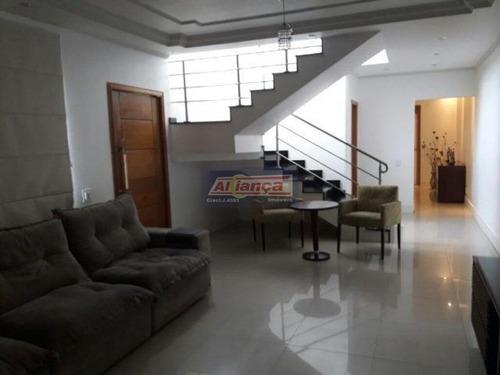 Sobrado Com 4 Dormitórios À Venda, 332 M²- Vila Rosália - Guarulhos/sp - Ai14965