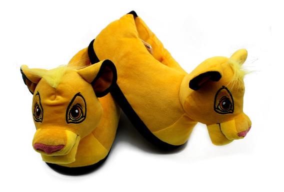 Pantufa Simba O Rei Leão Lion King Original Disney P M G