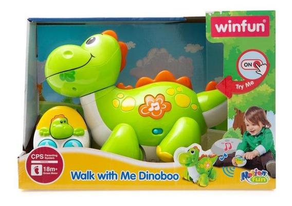 Dinosario Interactivo Dinoboo Camina