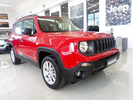 Jeep Renegade 4x2 Anticipo $ 419.500 + Cuotas Fijas $ 13.256