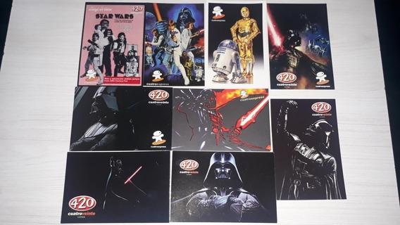 9 Postales Star Wars 10x15 Cada Una. 420lounge.
