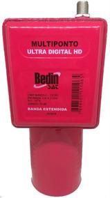 Lnbf Multiponto Super Digital Banda Extendida 70 Dbi