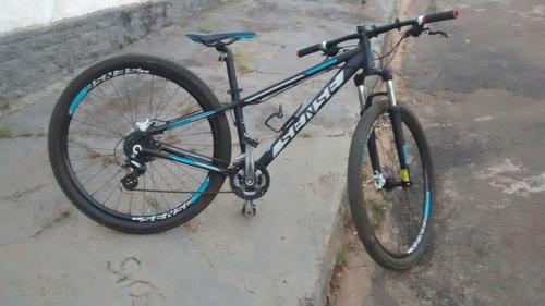 Bicicleta Sense Rock Completa Freios Idraulicos Tudo Shimano