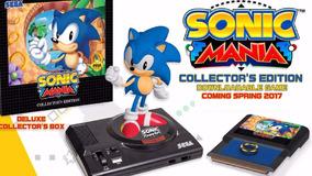 Sonic Mania Collector Edition - Ps4 - Pronta Entrega