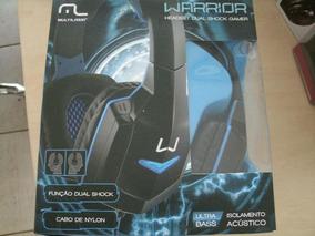 Headset Multilaser Com Microfone Dual Shock Gamer Ph118
