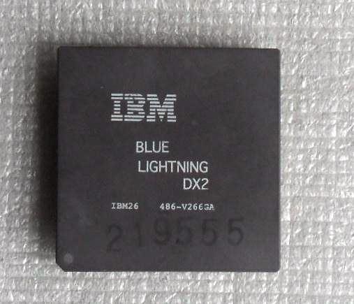 Processador Ibm Blue Lightning 486 Dx2 66 Mhz Testado Raro