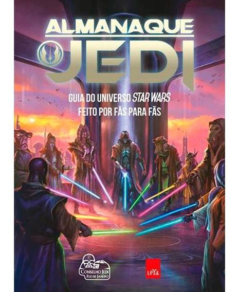 Livro Almanaque Jedi - Guia Do Universo Star Wars