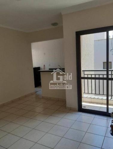 Apartamento Com 1 Dormitório Para Alugar, 45 M² Por R$ 920,00/mês - Jardim Botânico - Ribeirão Preto/sp - Ap3538