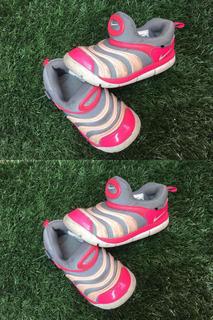 Tenis Nike Niña Rosas Usado Talla 16