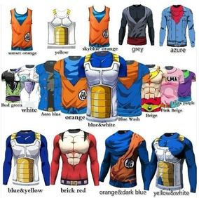 Camisas, Camisetas Dragonball Z Masculina E Top Feminino