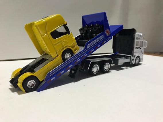 Miniatura Caminhão Truck Guincho Escala 1/64
