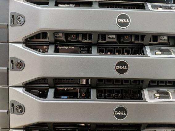 Servidor Dell R720 (2x 8c/12t, 128gb, 2x 1.2tb, 2x Fonte)