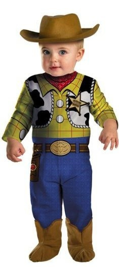 Toy Story Woody Infant Costume 0-6 Meses