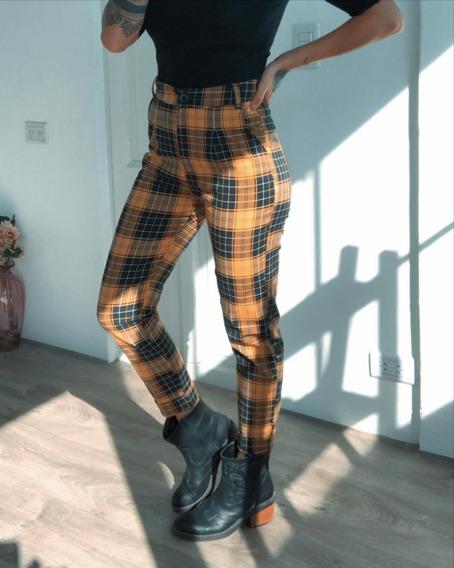 Pantalón Bengalina Elastizado Tiro Alto Excl Calce Art 6546