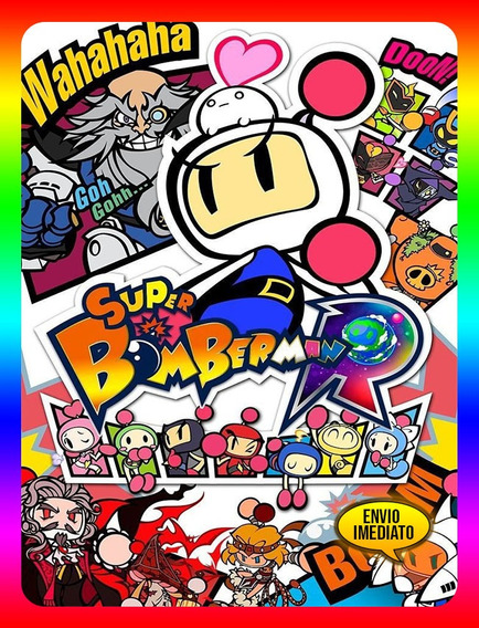 Super Bomberman R Português Pc - Steam Key (envio Já)