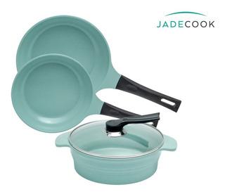 Jade Cook - Batería De Cocina Cocinar Sin Grasa Cv Directo.